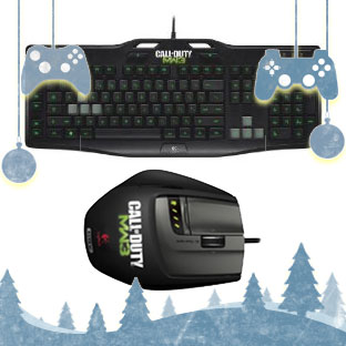 Logitech Gaming Keyboard & Mouse: Call of Duty Modern Warfare 3 Editions
