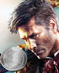 Booker DeWitt in BioShock Infinite Box Art