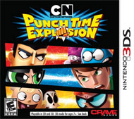 Cartoon Network: Punch Time Explosion Box Art