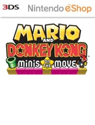 Mario and Donkey Kong: Minis on the Move Box Art