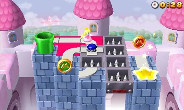 Mario and Donkey Kong: Minis on the Move Screenshot