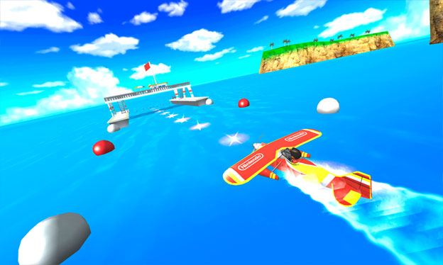 Pilotwings Resort Screenshot