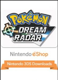 Pokémon Dream Radar Box Art