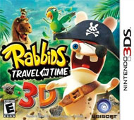 Raving Rabbids: Travel in Time 3D Box Art