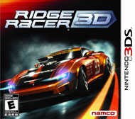 Ridge Racer 3D Box Art