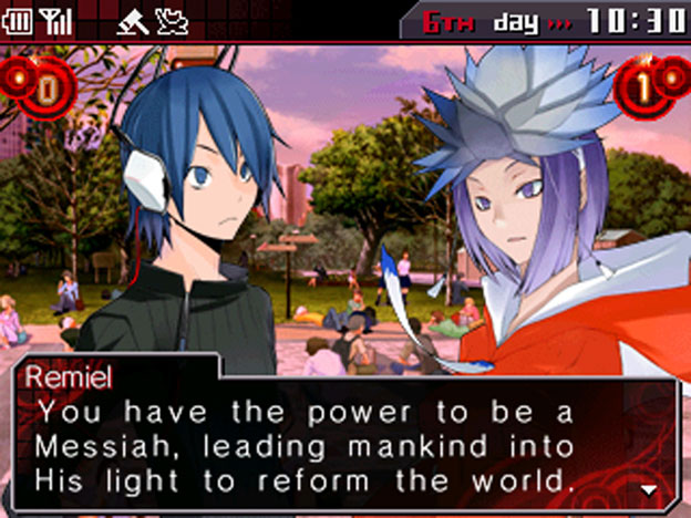 Shin Megami Tensei: Devil Survivor Overclocked Screenshot