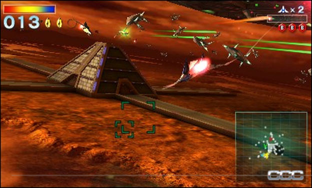 Star Fox 64 3D Screenshot - click to enlarge