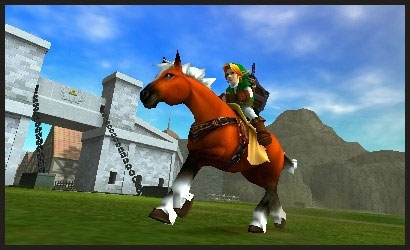 The Legend of Zelda: Ocarina of Time 3DS Screenshot
