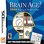 Brain Age 2: More Training in Minutes a Day box art