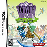 Death Jr. and the Science Fair of Doom box art
