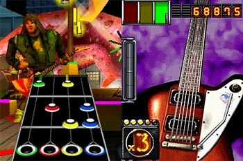 Guitar Hero: On Tour screenshot