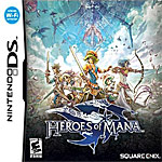 Heroes of Mana box art