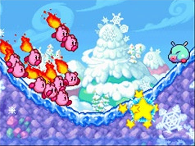 Kirby Mass Attack Screenshot