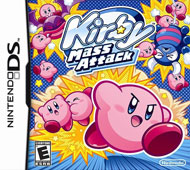 Kirby Mass Attack Box Art