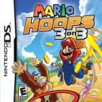 Mario Hoops 3 On 3 box art