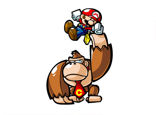 Mario vs. Donkey Kong: Mini-Land Mayhem Screenshot