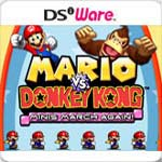 Mario vs. Donkey Kong: Minis March Again! box art