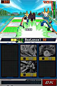Mega Man Star Force 2: Zerker x Ninja / Zerker x Saurian screenshot