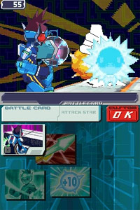 Mega Man Star Force 3: Black Ace/Red Joker screenshot