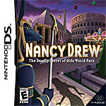 Nancy Drew: The Deadly Secret of Olde World Park box art