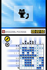 Picross DS screenshot