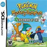Pok&#233mon Mystery Dungeon: Explorers of Sky box art