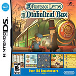 Professor Layton and the Diabolical Box box art