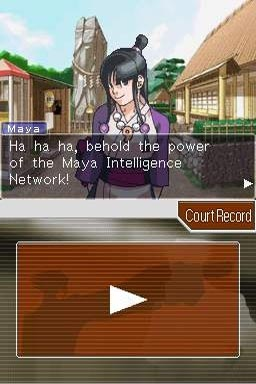 Phoenix Wright, Ace Attorney: Justice for All screenshot