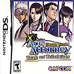 Phoenix Wright, Ace Attorney: Trials and Tribulations box art