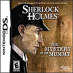 Sherlock Holmes: The Mystery of the Mummy box art