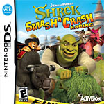 Shrek Smash and Crash box art