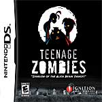 Teenage Zombies: Invasion of the Alien Brain Thingys! box art