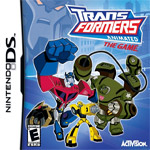 Transformers Animated: The Game box art
