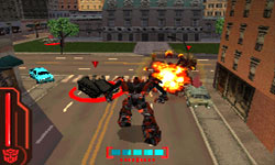 Transformers: Revenge of the Fallen Autobots / Decepticons screenshot