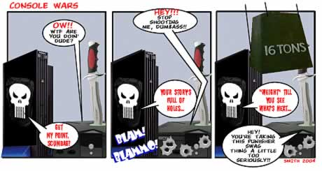 Console Wars comic � click to enlarge