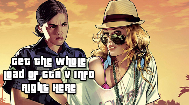 Grand Theft Auto V Spills All Over The Internet