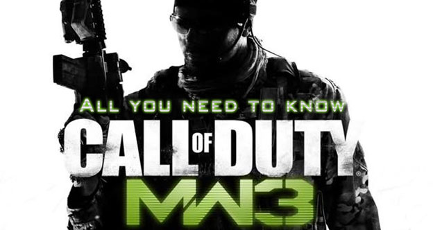 Modern Warfare 3's Multiplayer - All You Need To Know