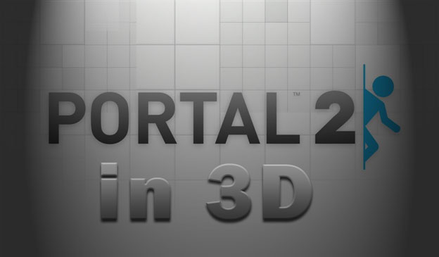 Playing Portal 2 In 3D