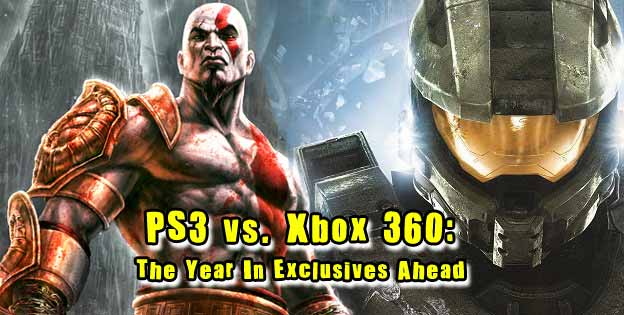 PS3 vs. Xbox 360: The Year in Exclusives Ahead