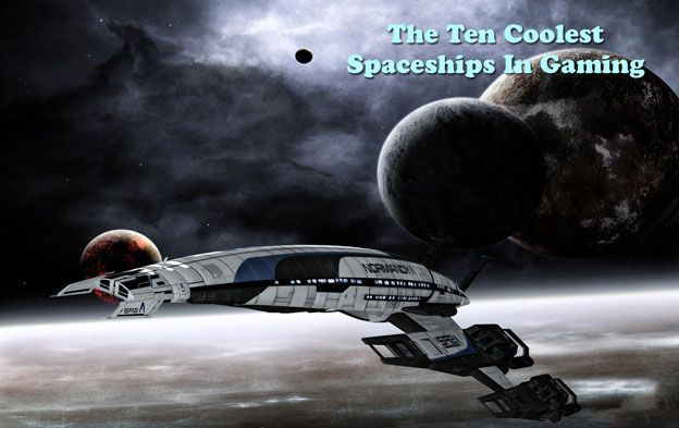 Top 10 Coolest Spaceships In Gaming