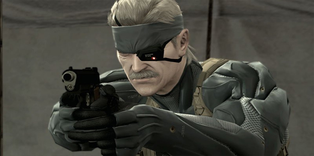 5. Metal Gear Solid 4