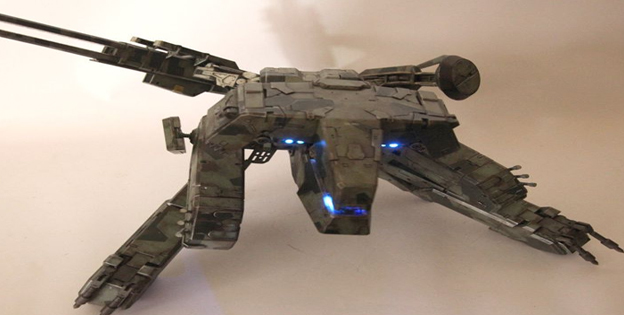 Metal Gear Rex Figure by Toyman Customs