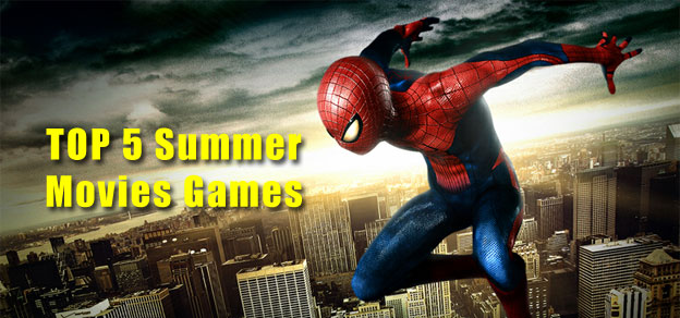 Top 5 Movie Based Games This Summer