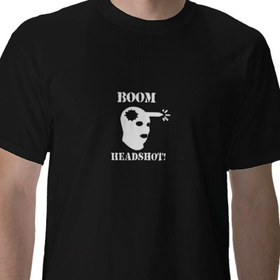 Boom Headshot Shirt