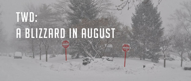 The Weekly Dish – A Blizzard in August