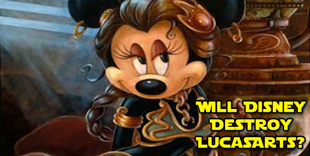 Will Disney Destroy LucasArts?