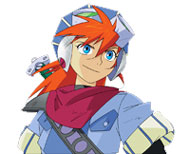 Justin from Grandia