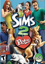 The Sims 2 Pets box art