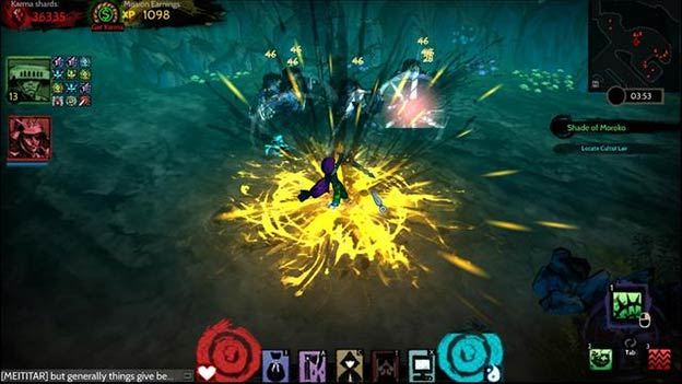 Akaneiro: Demon Hunters Screenshot