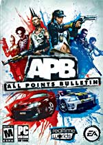 All Points Bulletin (APB) box art